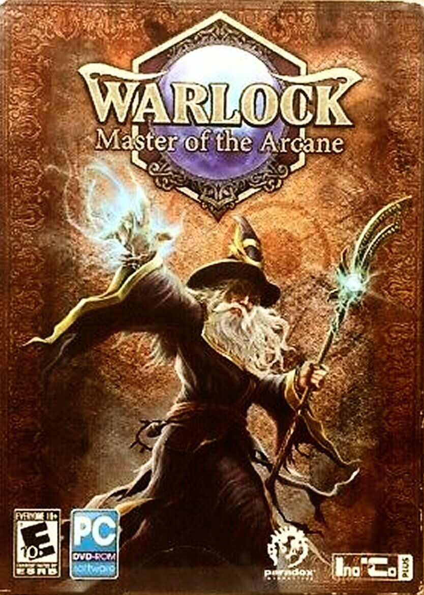 Warlock Master Of The Arcane PC-DVD, 2012 NEW FACTORY SEALED FREE SHIPPING  - $12.99