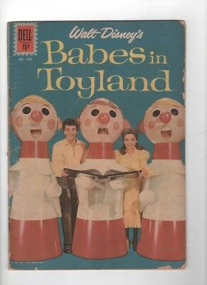 Dell Four Color #1282 Babes in Toyland 1961