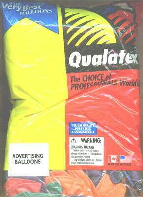 Qualatex Advertising Balloons Bag of 250 assorted colors - Bag Of Balloons