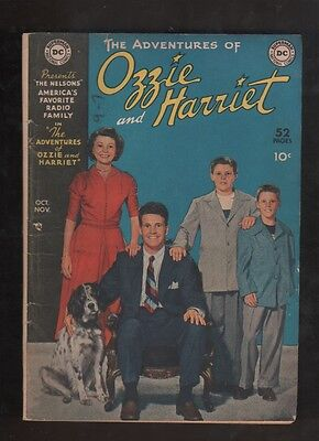 "1949 1st ISSUE THE ADVENTURES OF "" OZZIE and HARRIET "" COMIC BOOK COMPLETE RARE"