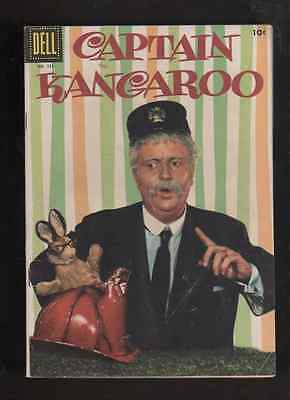 "1956 1st ISSUE "" CAPTAIN KANGAROO "" DELL COMIC BOOK  ORIGINAL U-GRADE"