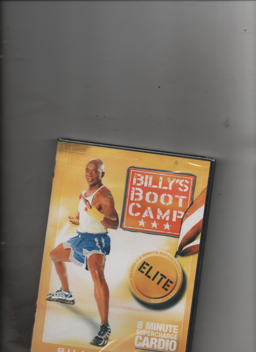 Billy Blanks Bootcamp Elite Mission 8 Minute Supercharge Cardio DVD New - $4.61