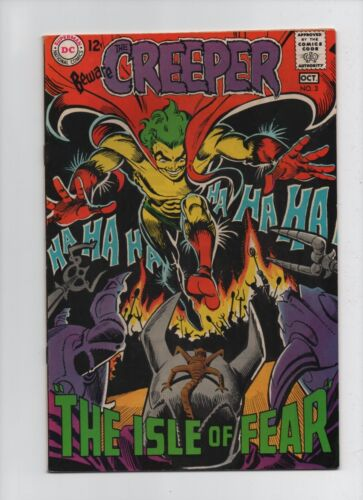 Beware The Creeper #3 - Awesome Ditko Cover Art - (Grade 8.0) 1968
