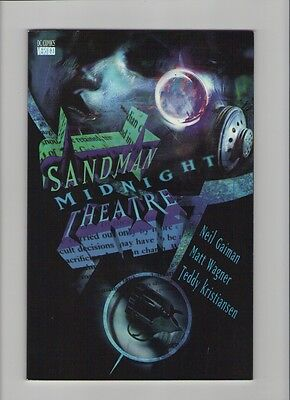 Sandman: Midnight Theater TPB - Neil Gaiman - 1995 (Grade 9.2) WH