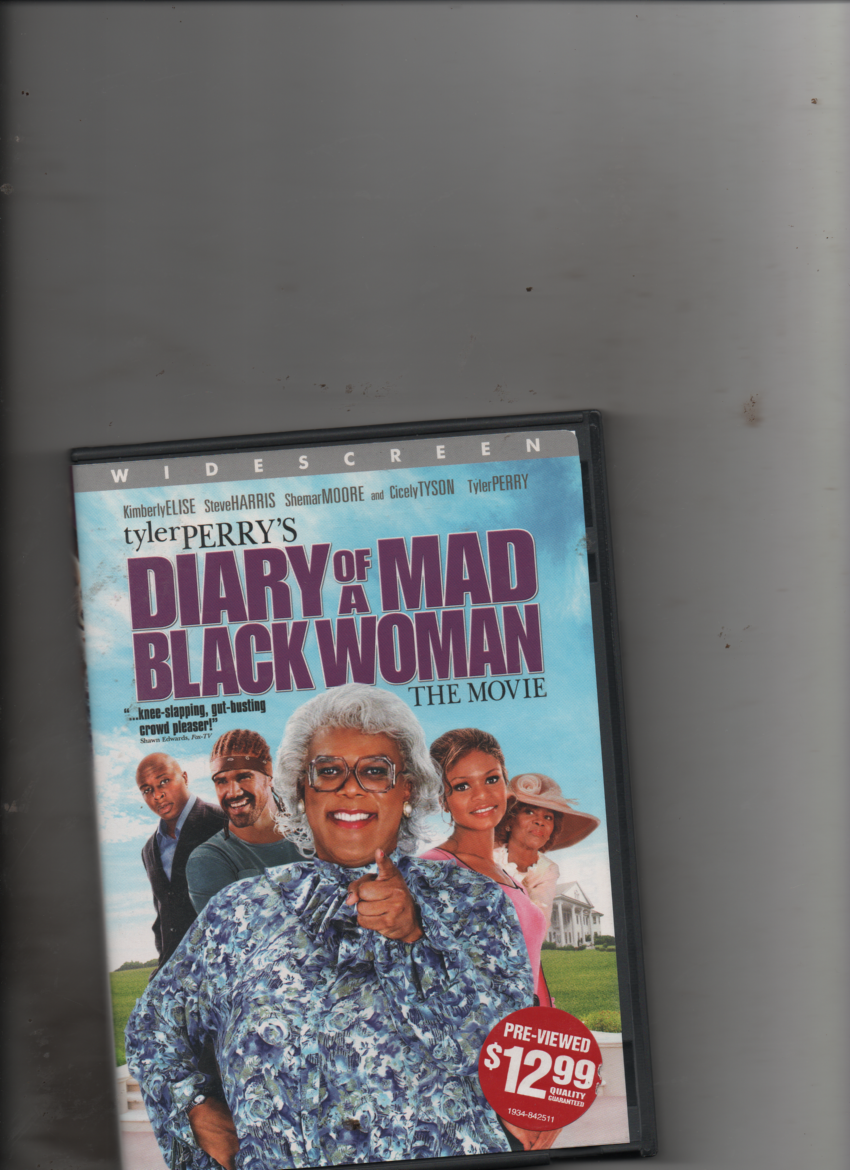 Diary Of A Mad Black Woman Widescreen Edition DVD  - $4.81