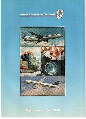 BRITISH CALEDONIAN AIRWAYS ANNUAL REPORT & ACCOUNTS 1986 BCAL