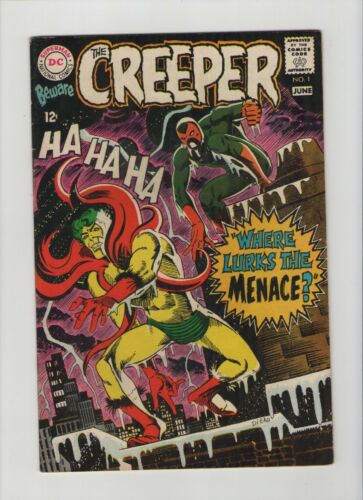 Beware The Creeper #1 - Steve Ditko Art - 1968 (Grade 7.0) WH