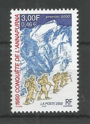 FRANCE 2000 FRENCH ASCENT OF MOUNT ANNAPURMA  SG,3668 U/M LOT 8589A