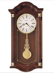 620-220 HOWARD MILLER DUAL CHIME WALL CLOCK LAMBOURN   620220