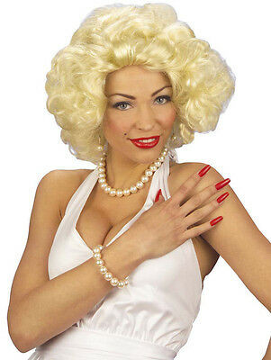 Frauen Perücke Moviestar Marilyn Hollywood Star Diva Filmstar - Hollywood Star Perücke