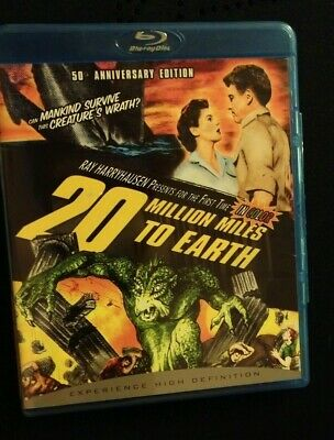 - 20 Million Miles to Earth [50th Anniversary Edition] [Blu-ray]