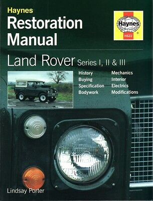 Land Rover Serie 1 2 3 I-III (88 109) Restauration-Handbuch restoration manual