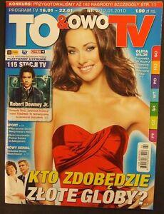 OLIVIA WILDE mag.FRONT cover 2/2010 Robert Downey Jr,Sherlock Holmes - europe, Polska - Zwroty są przyjmowane - europe, Polska