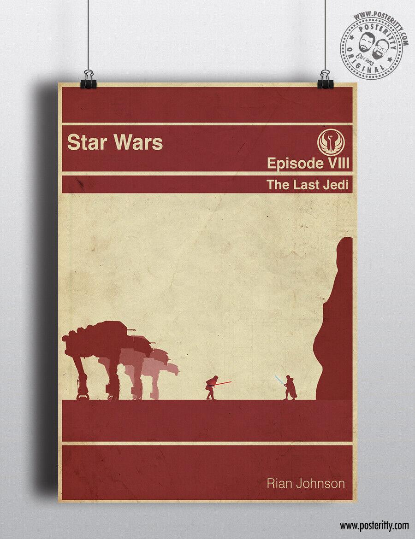 Episodes 4-6 STAR WARS Alternative Minimal Movie Posters