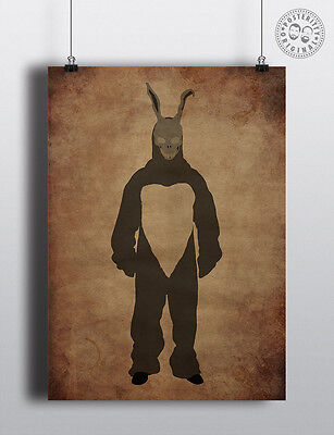 Frank - Donnie Darko - Minimalist Halloween Villain Movie Poster by Posteritty
