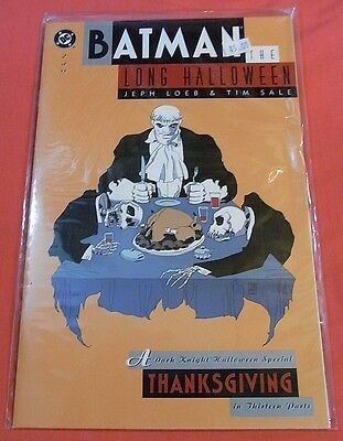 BATMAN: Long Halloween #2 - Unread issue..- bagged & boarded..!! - Batman Long Halloween Issues