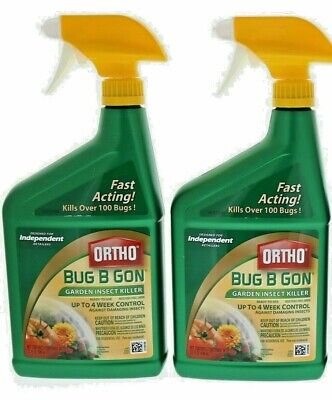 2 Ortho Bug B Gon Garden Insect Killer Ready to Use Spray Insect Killer (Bug B-gon Insect Killer)