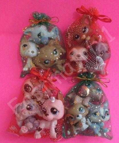 Littlest Pet Shop Lot 3 Random Puppy Dogs AUTHENTIC LPS Figures BUY 3 GET 1 FREE