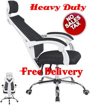 High Back Mesh Office Gaming Heavy Duty Ergonomic Computer Desk Reclining Chair