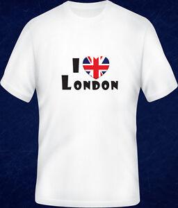 I-LOVE-ENGLAND-SCOTLAND-LONDON-UK-UnionJack-T-SHIRT-Short-Long-Sleeve