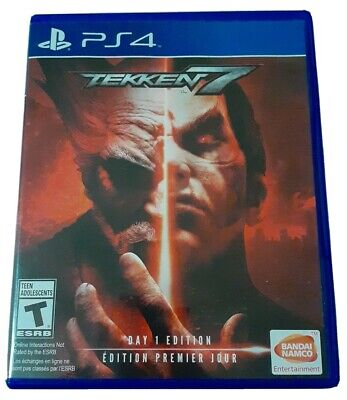 Tekken 7 PS4 (Sony Playstation 4, 2017) Tested || Free Shipping