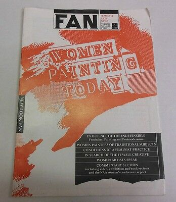 Feminist Arts News Fan Women Painting Today Volume 2 Number 4