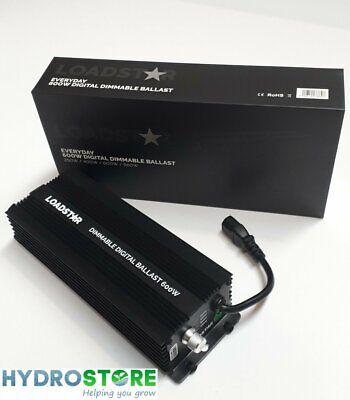 Loadstar 600W Electronic HPS Digital Dimmable Ballast Hydroponics Grow Light