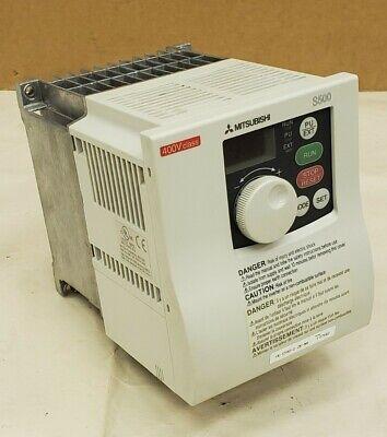 Mitsubishi S500 Fr-s540-2.2k-na 3hp Variable Frequency Drive Inverter - Nice