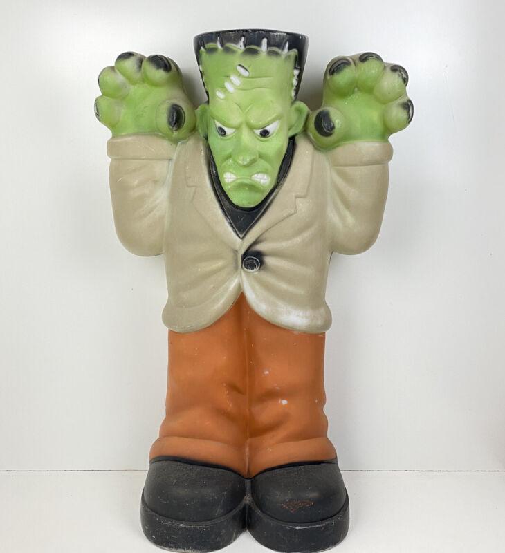 "Frankenstein Blow Mold Empire 36"" Halloween Statue Monster"