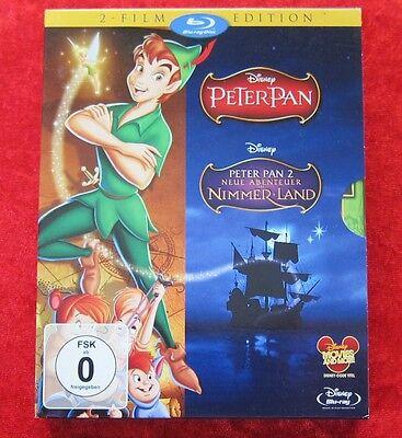 Peter Pan 1 und 2 neue Abenteuer im Nimmerland, Walt Disney Blu-Ray