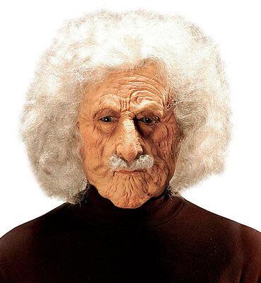 Albert Einstein Maske mit Perücke und Bart NEU - Karneval Fasching Maske (Albert Einstein Perücke)