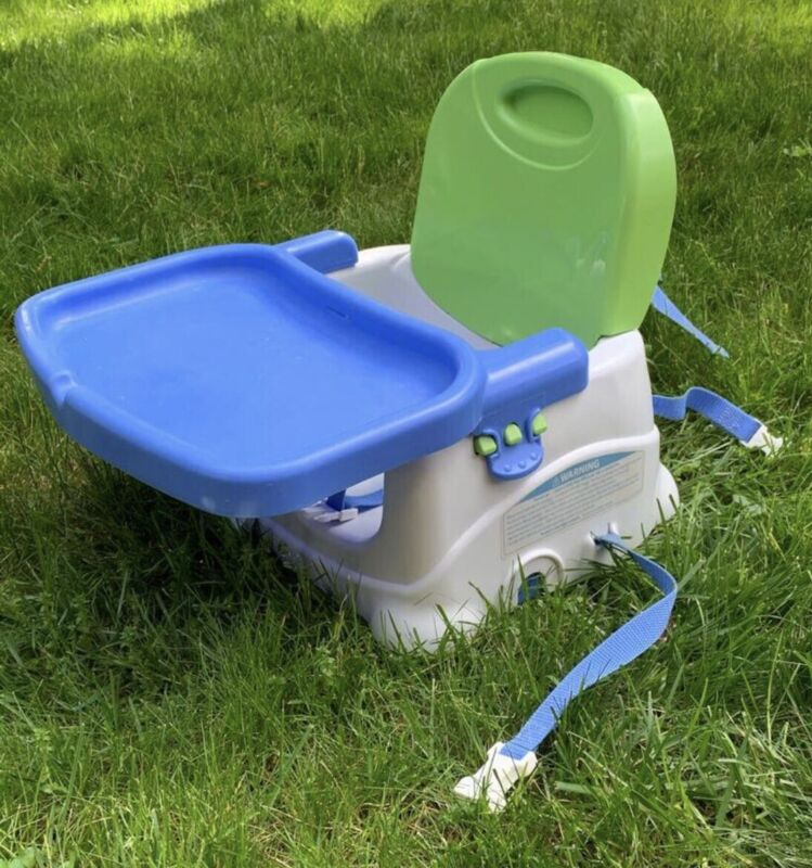 Fisher Price Deluxe Portable Booster Seat, Foldable High Chair.