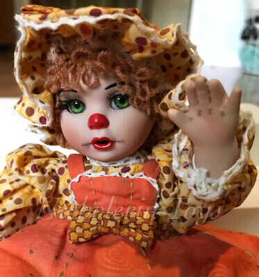 Marie Osmond Tiny Tot Rag A Muffin Doll Pumpkin Spice ~ Charisma FREE Shipping