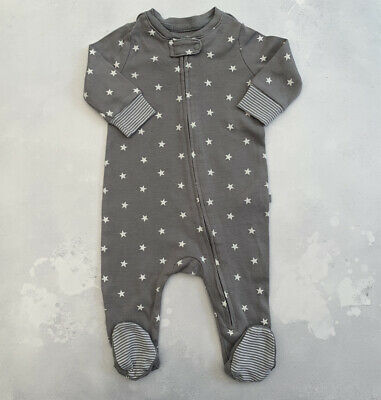 Baby Gap Boy / Girl Zip Up Babygrow / Sleepsuit 0-3 Months