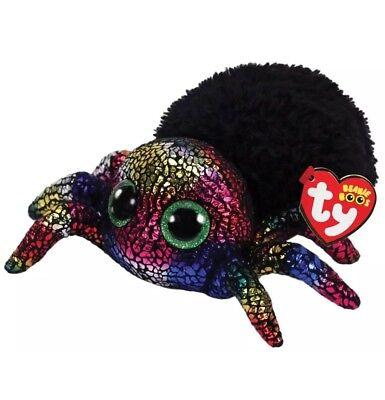 Ty Beanie Boos Halloween Leggz : Spider 6