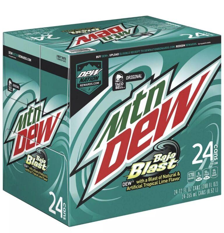 Mountain Dew Baja Blast (12oz 24 Pack