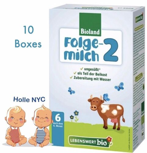 Lebenswert Stage 2 Organic Infant Formula 10 Boxes 500g Free Shipping