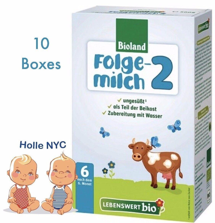 Lebenswert Stage 2 Organic Formula,10BOXES, 500g, 08/2020 FREE SHIPPING