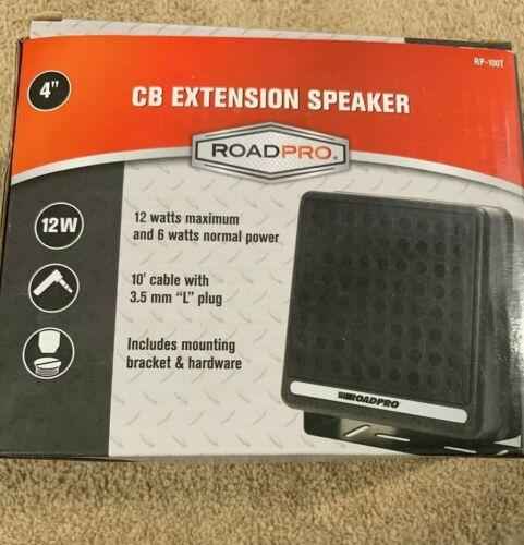 ROADPRO RP-100T 4 CB EXTENSION SPEAKER 12 WATTS - $19.50