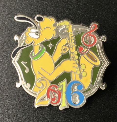 PLUTO w/ Saxophone Music Magic Memories 2016 Dated Disney Mystery Pin #112491
