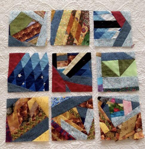 9  scrap   quilt Blocks # 301-5