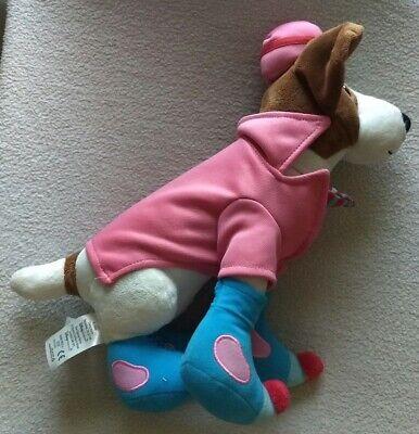 163-Disney Santa Paws Eddy Elf Plush Dog 13