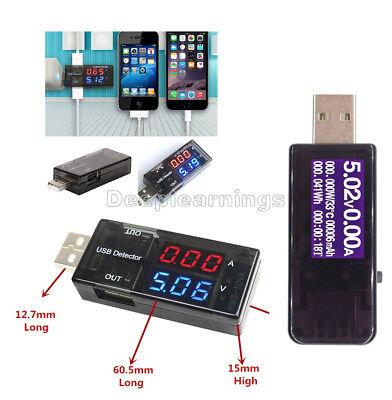 Usb Charger Doctor Current Voltage Lcd Display Detector Voltmeter Ammeter Tester