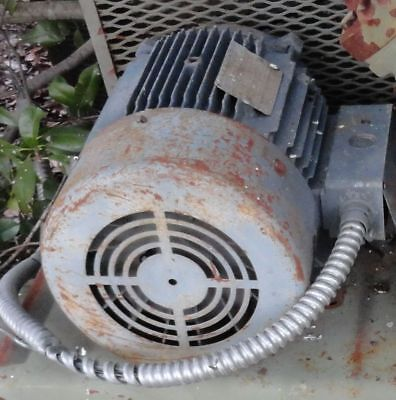 General Electric Motor 5hp 3 Phase 230460 60 Hertz 1745 Rpm Ingersoll Rand T-30
