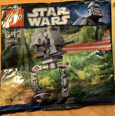 Lego Star Wars #30054 AT-ST NEW RETIRED POLYBAG Rare