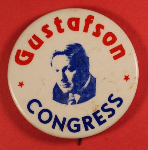 JOEL K. GUSTAFSON Political Pin - 1974 loss US House Congress Florida Palm Beach