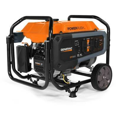Generac Gp3600 212cc 120-volt 30-amp Gas Powered Portable Generator - 7677