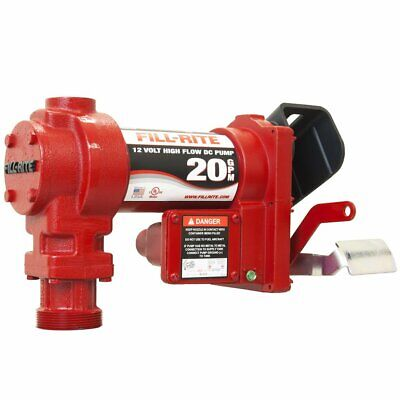 Fill-rite Fr2405ge 57 Lpm 24-volt 1.5-meter Clipped Ground Wire Dc Pump