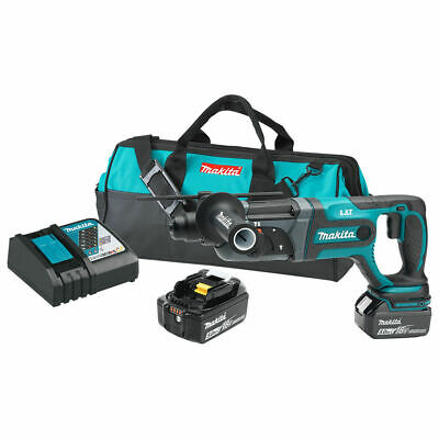 Makita Xrh04t 18v Lxt Lithium-ion 78 Rotary Hammer Kit Cordless New Free Ship