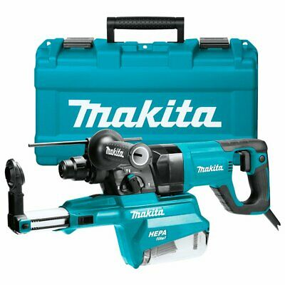 Makita Hr2661 1-inch Sds-plus D-handle Rotary Hammer Kit W Dust Extractor